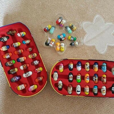 Mighty Beanz with Case and Rare Beanz