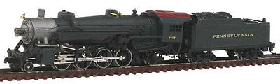 Model Power Pennsylvania Railroad Mikado Steam Loco 2-8-2 N scale 87571