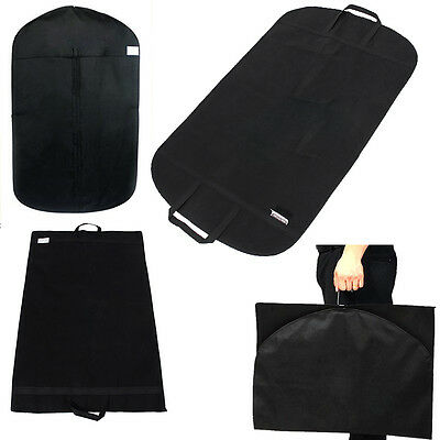 Dress Storage Garment Carrier Bag Suit Cover Trousers Travel Outdoor Hanger Bags