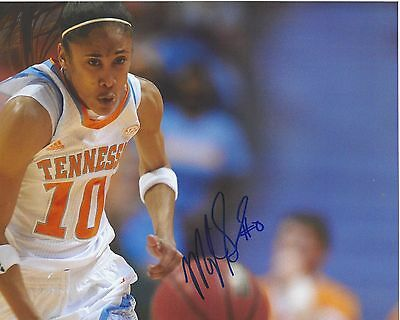 MEIGHAN SIMMONS signed 8 x 10 photo WNBA Tennessee LADY VOLS Basketball DREAM