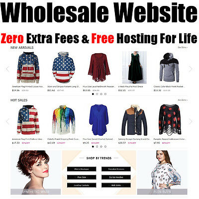 Wholesale Website - Free Hosting For Life - Home Online Adult Internet Business