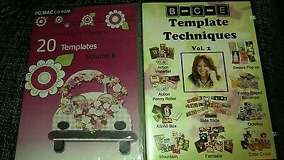 Set of 2 Template Crafting Cd roms