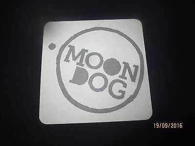 1 only MOONDOG BREWERY 1ST Issue  Beer Coaster collectable