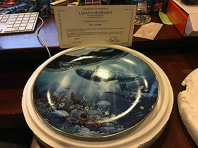 Danbury Mint A Discovery off Anahola Underwater Paradise Plate 1991 - Nelson