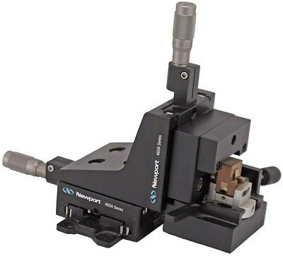 "Newport 460A-XYZ 0.5"" 3 Axis Travel Quick-Mount Linear Stage w/SM-13 Micrometer"