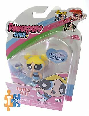"""BUBBLES BULLE The Powerpuff Girls Spin Master 2016 Action Doll Figure """"NEW"""""""