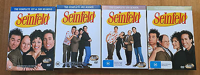 Seinfeld seasons 1, 2, 3, 5 & 6 on DVD + Collectable note pad