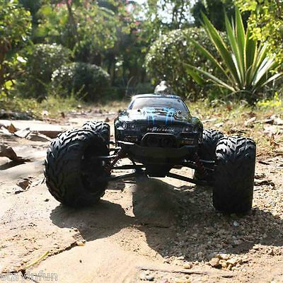 9115 1/12 Scale 4CH RC Truck Car Toy with 2 - Wheel Driven Electric Racing Car