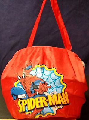The Amazing Spider-Man Halloween / Easter Candy Gathering Spring Loaded Bag