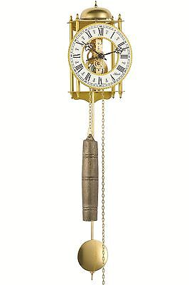 HERMLE Wall Clock mechanical 8-day movement skeleton clock Made in Germany NEW