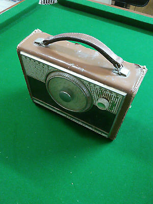 Astor Radio - Brown leather case