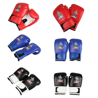 Children Grappling Training MMA Boxing Gloves Sparring UFC Punching Fighting *AU