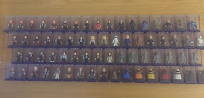 Complete Set 67 Doctor Who Character Building Blocks Series 1,2,3,4, Many More