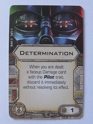 X-Wing Upgrade Card - Determination