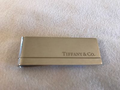 Tiffany Silver Money Clip Complete With Pouch