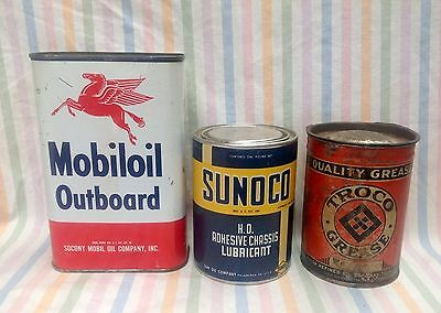 OIL & GREASE Can lot collection