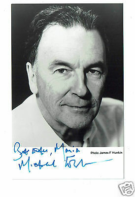 Michael Elwyn Welsh Actor Hand Signed Photograph 5 x 3