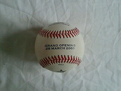 USA Rawlings Astros Haliburton Grand Plaza Opening 2003 Houston baseball