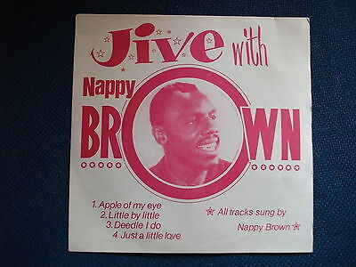 NAPPY BROWN EP - Jive With..