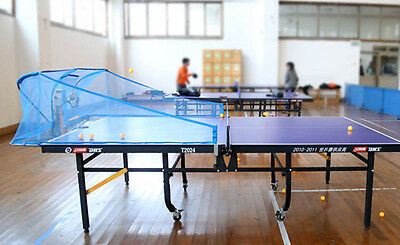 Super Master Table Tennis Robot/Machine, 5th Gen, with Collection Net+100 Balls