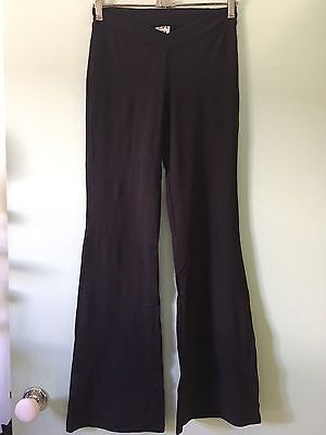 Energetiks Full Length Dance Pants Black Adult Small Perfect Condition Worn Once