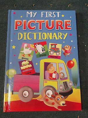 New My First Picture Dictionary Book