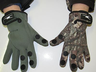 Fishing Gloves Folding Fingers Shooting Hunting S/M & L/XL