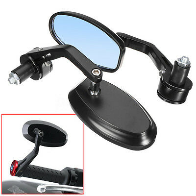 7/8'' 22mm Universal Motorcycle bike Handle Bar End Rear Side View Mirrors