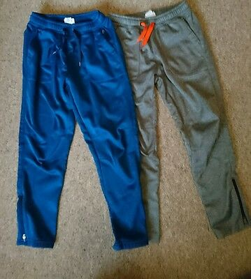 Pair boys H&M running trousers (age 7-8)