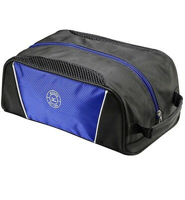 Mizuno Golf Serious Performance Shoe Bag Black And Royal Clearance Free P&P