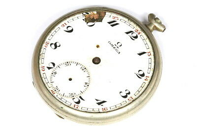 Omega 15 jewels 38.5L.T1 pocket watch for parts - 122051