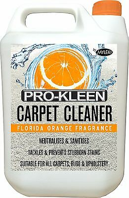 Carpet Cleaner Solution Pet Odour Extraction Remover Upholstery Cleaning Shampoo