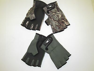 Fishing Gloves Fingerless Shooting Hunting Water Proof S/M & L/XL