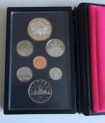 Canada Proof Coin Set 1981