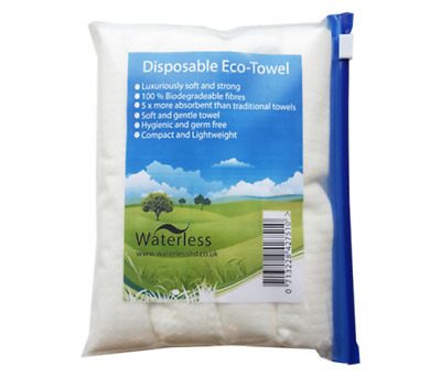 Waterless Disposable Eco-Towel Pack Of 4