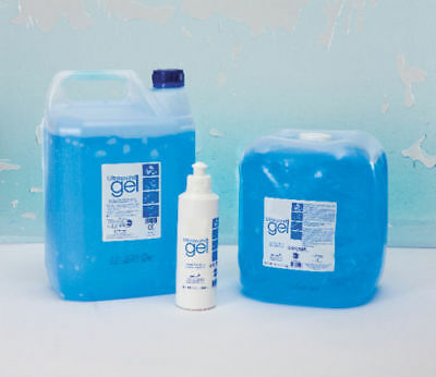 Healthlife Ultrasound Gel - Blue (5 litre cubitainer or 5 litre container)