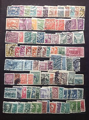 Czechoslovakia Stamp Collection Early to Mid-period 1
