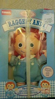 1989 Playskool Raggedy Andy Baby Doll In Box