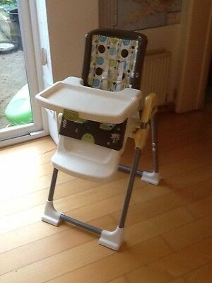 High chair and free set of child reins