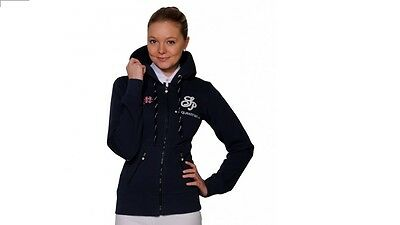 Spooks Riding Sweat-Jacke AWA navy dunkelblau XS  S M L XL NEU Sweatjacke Hoody