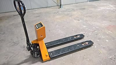 Pallet truck Lift truck 2000 kg digital scale