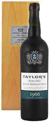 Taylors Very Old Single Harvest Vintage 1966 Port 70cl in Gift Box - FREE P&P