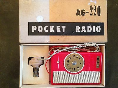 H & G Pocket Radio AG - 220 collectable 1950's
