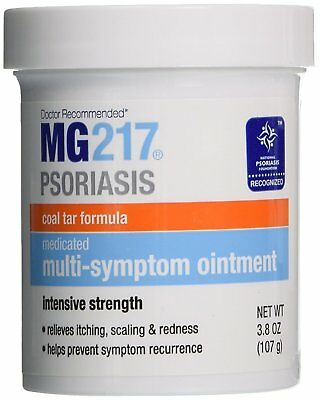 Mg217 Psoriasis Coal Tar Formula Multi-Symptom Ointment, 3.8 Ounce (Pack Of 3)