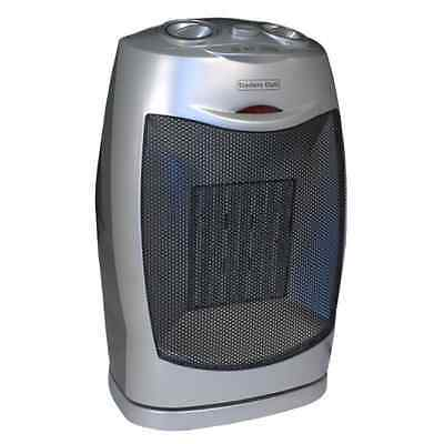 KAMPA 750/1500W Oscillating Ceramic Fan Heater Hot Cold for Camp Home Work