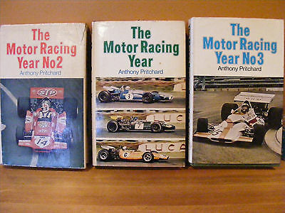 The Motor Racing Year No1/2/3 Anthony Pritchard