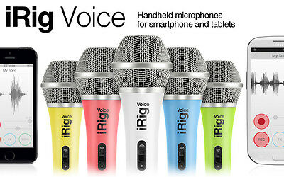 Irig Voice Microphone -White