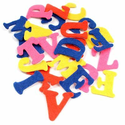 Hobbycraft Assorted Adhesive Felt Letters Stickers Craft Scrapbooking Cardmaking