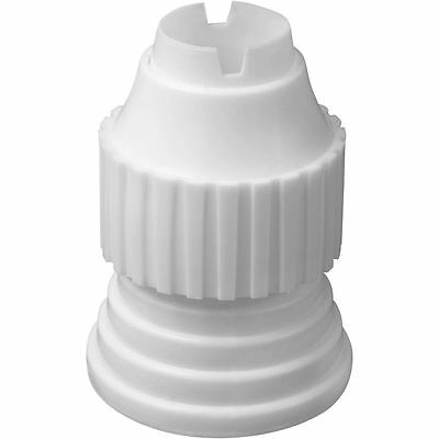 Wilton Large Tip Coupler Cake Decorating Filling Tips Plastic Tool Base And Ring