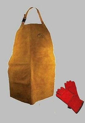 Panther Leather Apron Premium Quality - Welders, Blacksmith, Metal Workers